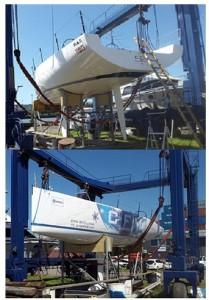 Stuart Ritchie new boat