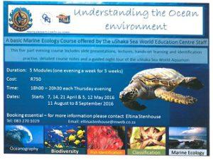 Marine Ecology Course